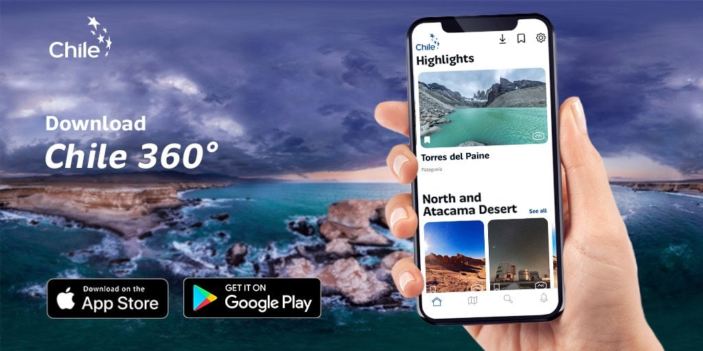 The Chile 360 app