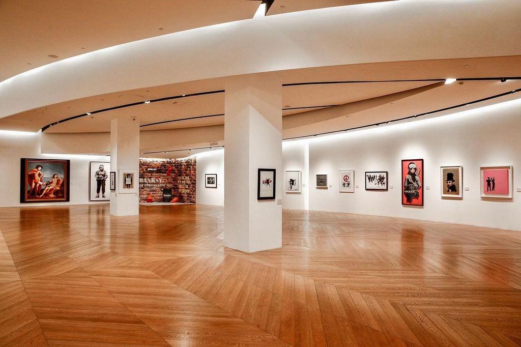 Bristol Museum - Bransky's Art