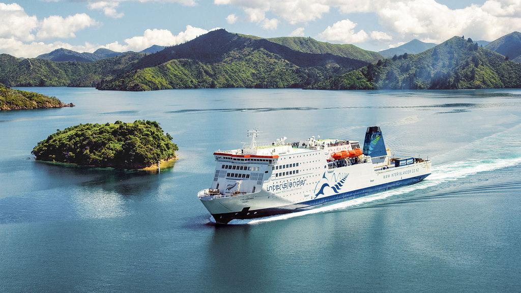 Cook Strait - ferry between Picton to Wellington