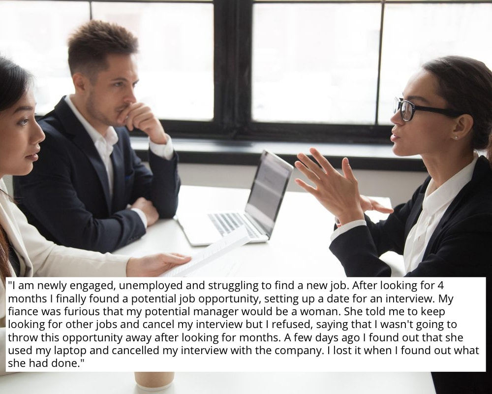 Wife Cancels Job Interview