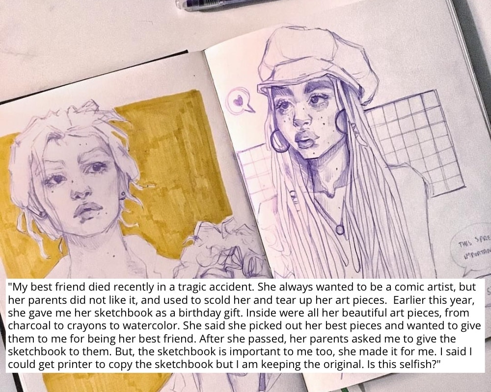 Would You Keep This Sketchbook?
