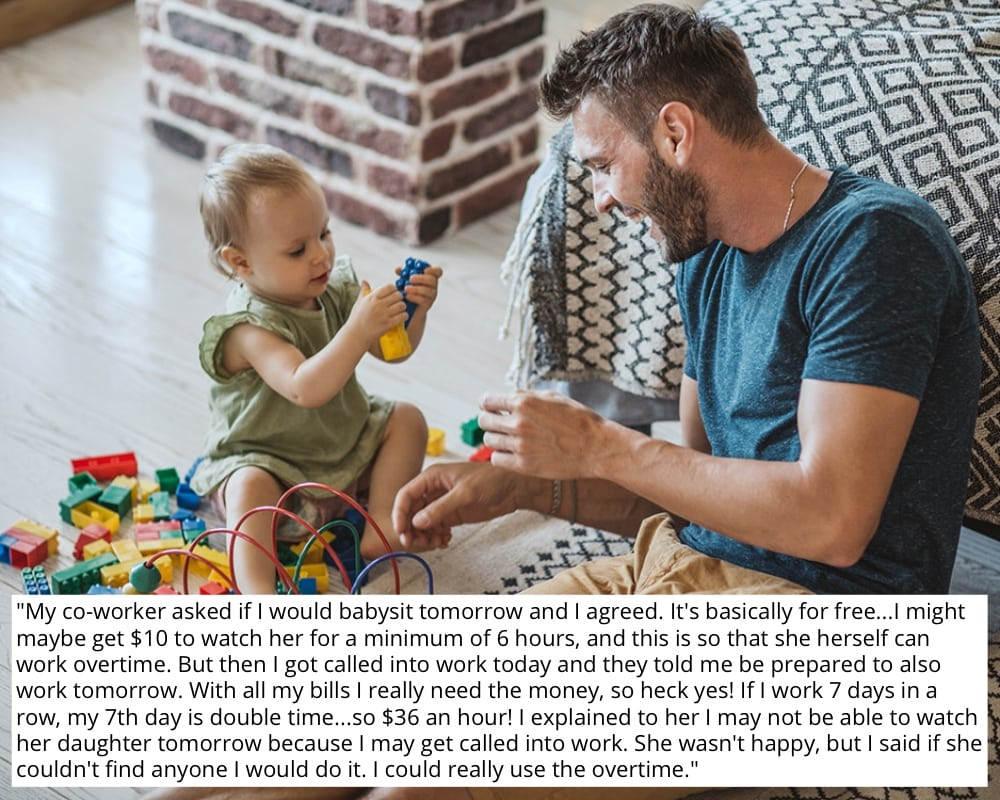 Babysit or Work Overtime?