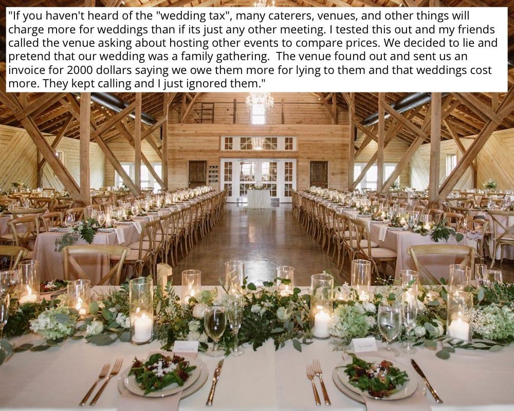 Undercover Wedding Venue