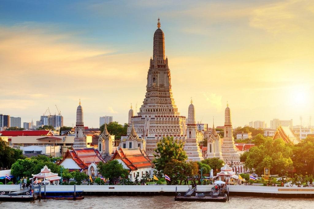 A view over Bangkok