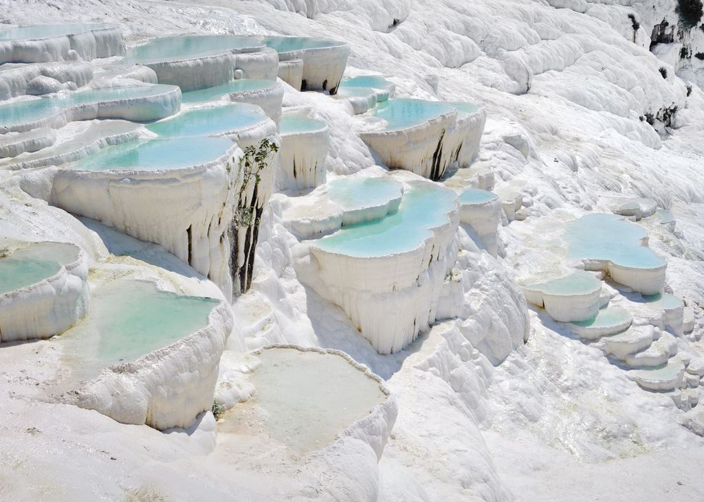 The Cotton-Like Hot Springs of Pamukkale
