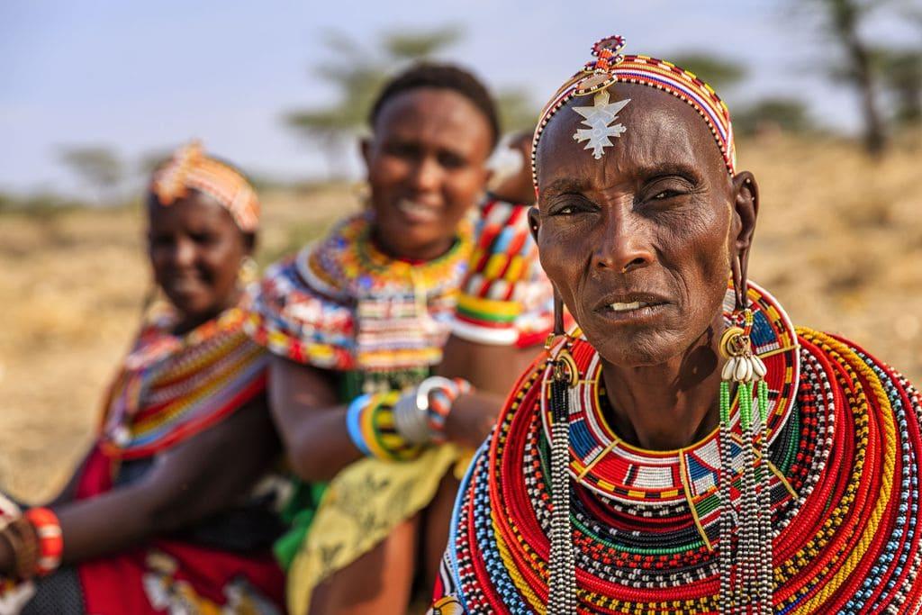 The Sumburu, indigenous people of East Africa