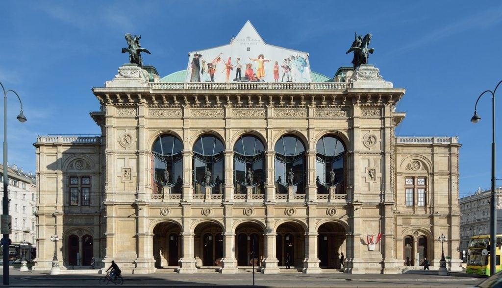 Main entrance of the Vienna Opera House