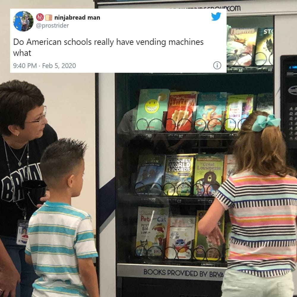 Toss a Coin to Your School Vending Machine