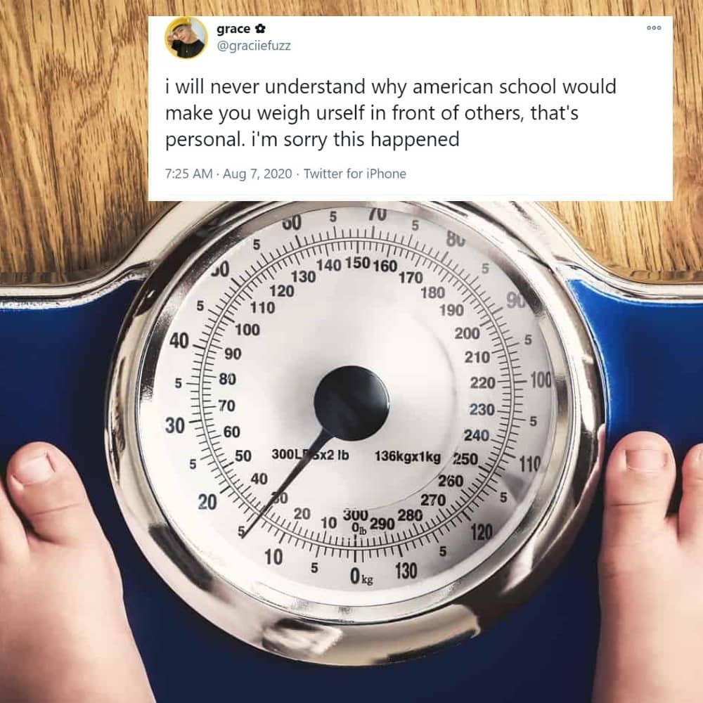 Why Do I Gotta Weigh Myself in Public?