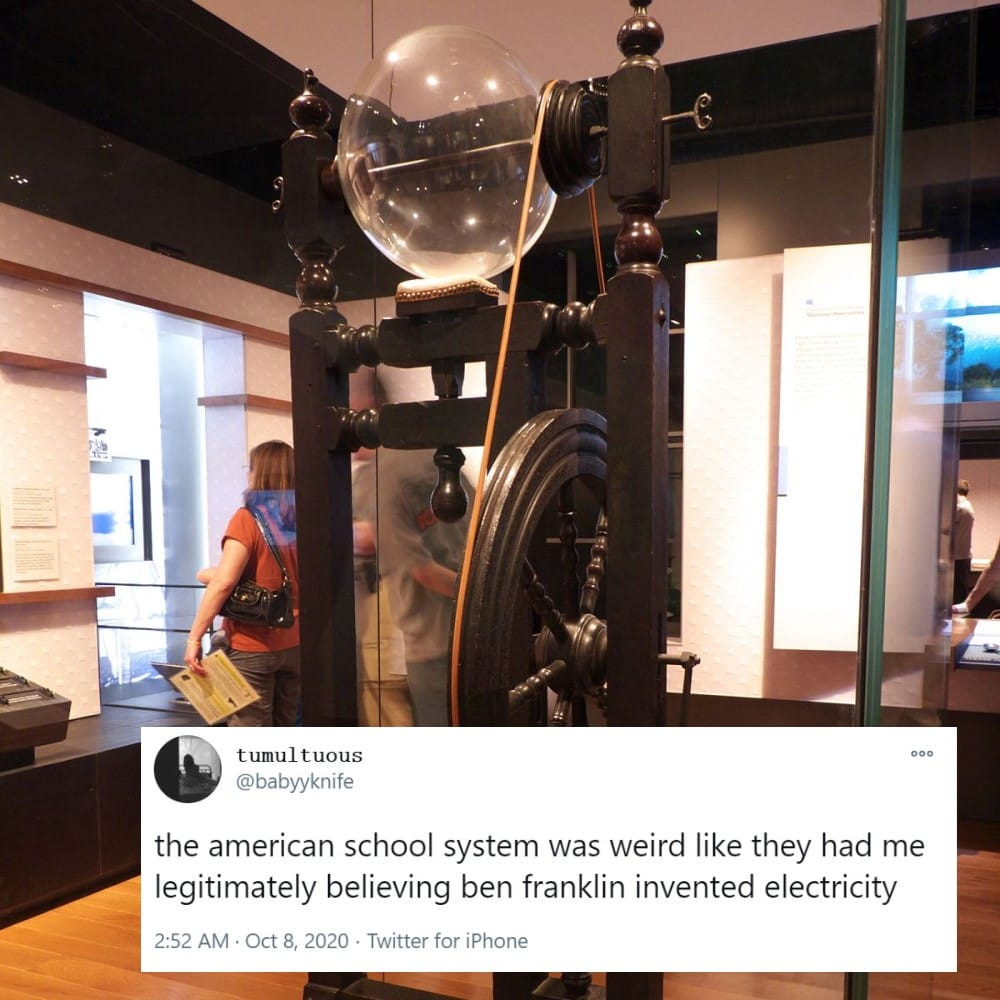 Ben Franklin: The Inventor of Electricity