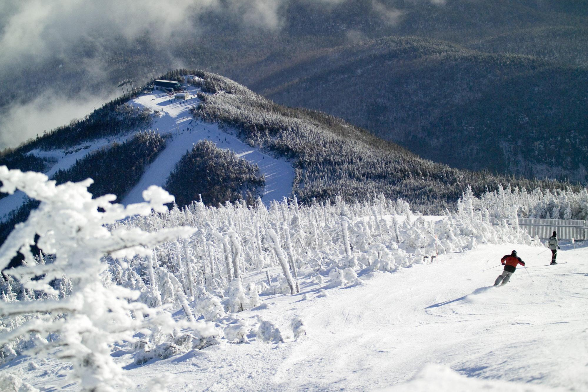 Skiing in Whiteface Mountain