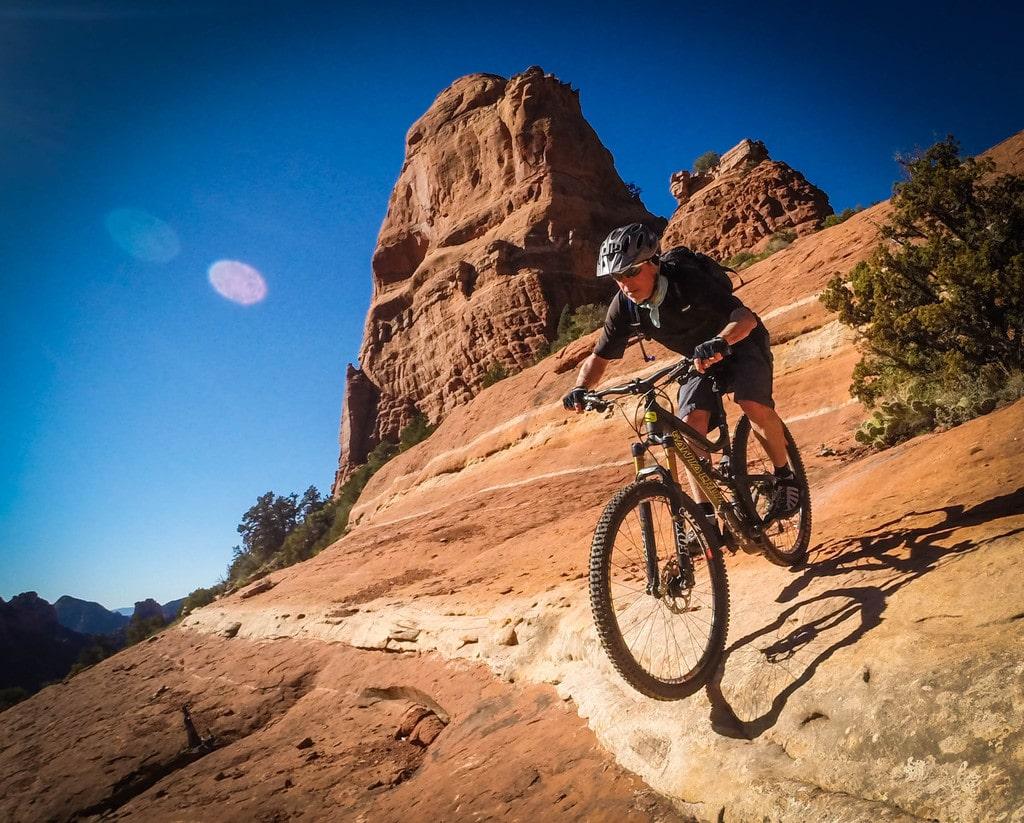 UAE mountain biker