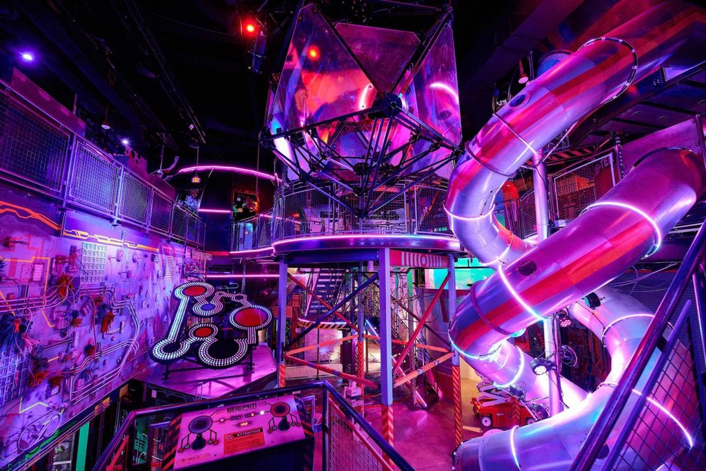 One of Meow Wolf's Omega Mart Unique Environments
