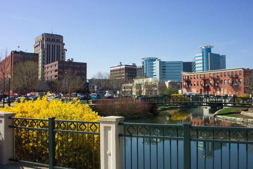 View of Kalamazoo, Michigan