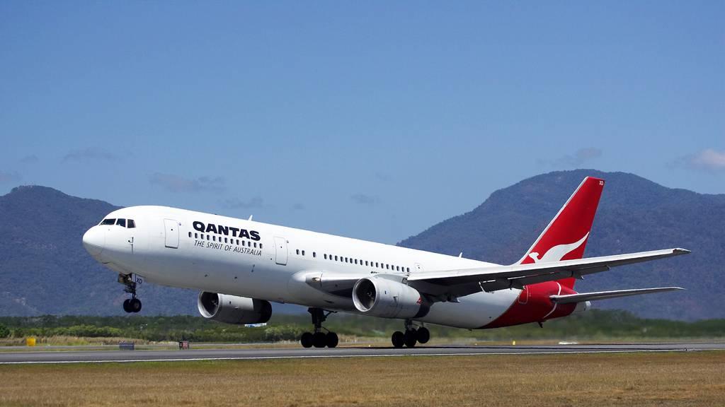 Qantas, the national airline of Australia