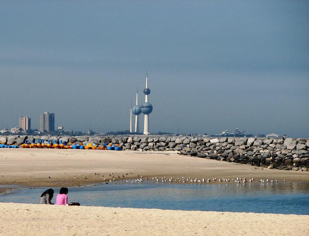 Marina Beach, Salmiya - Kuwait's Most Peaceful Beach