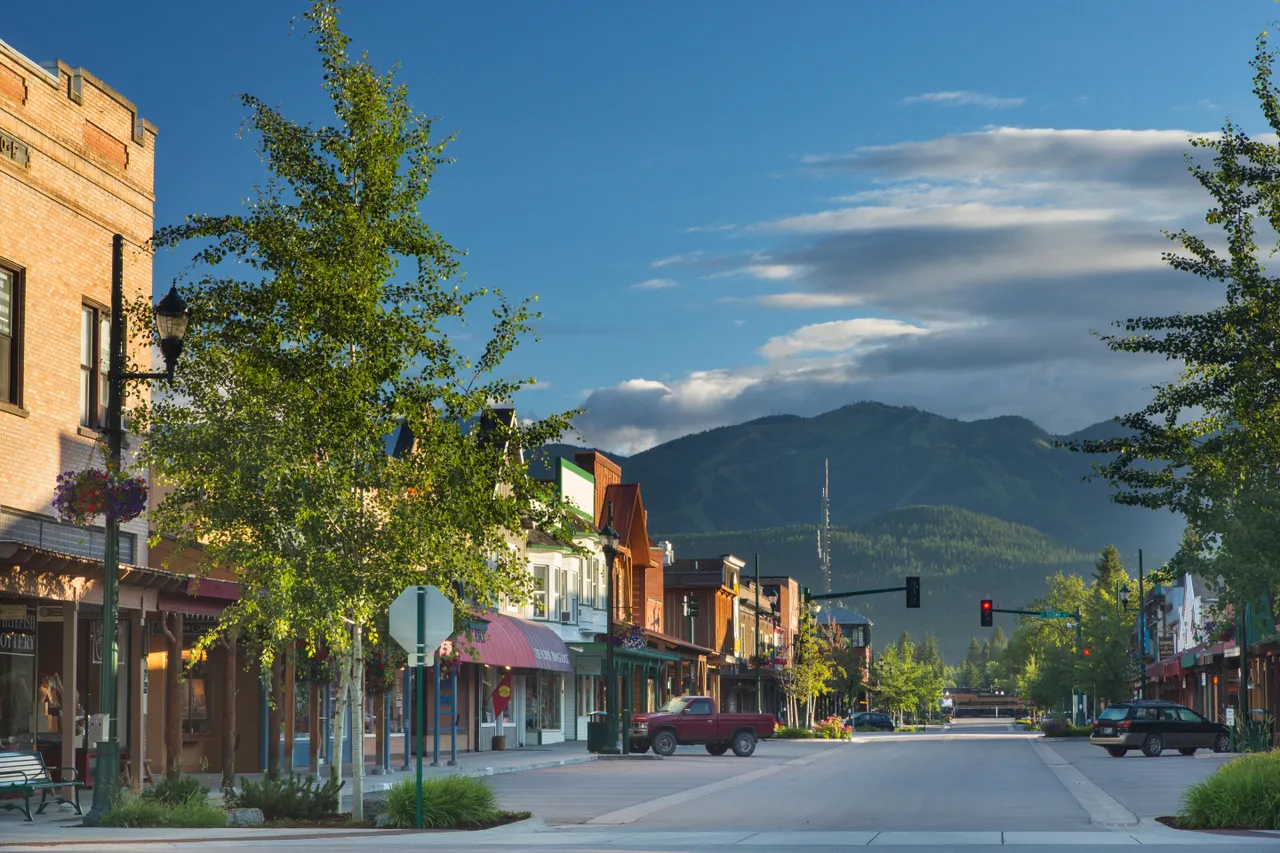 Whitefish, Montana, Full of Art Galleries and Boutiques