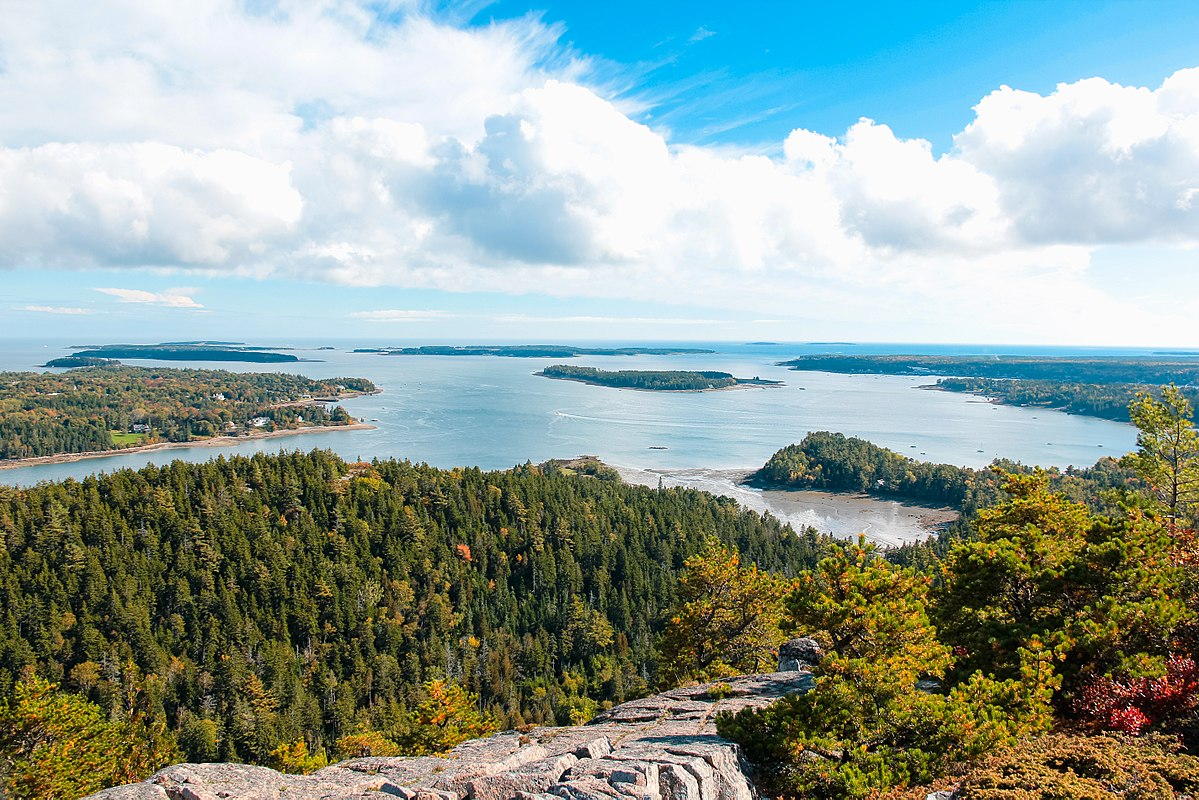 Acadia National Park, Maine, a Great Place for Adventure Outdoors