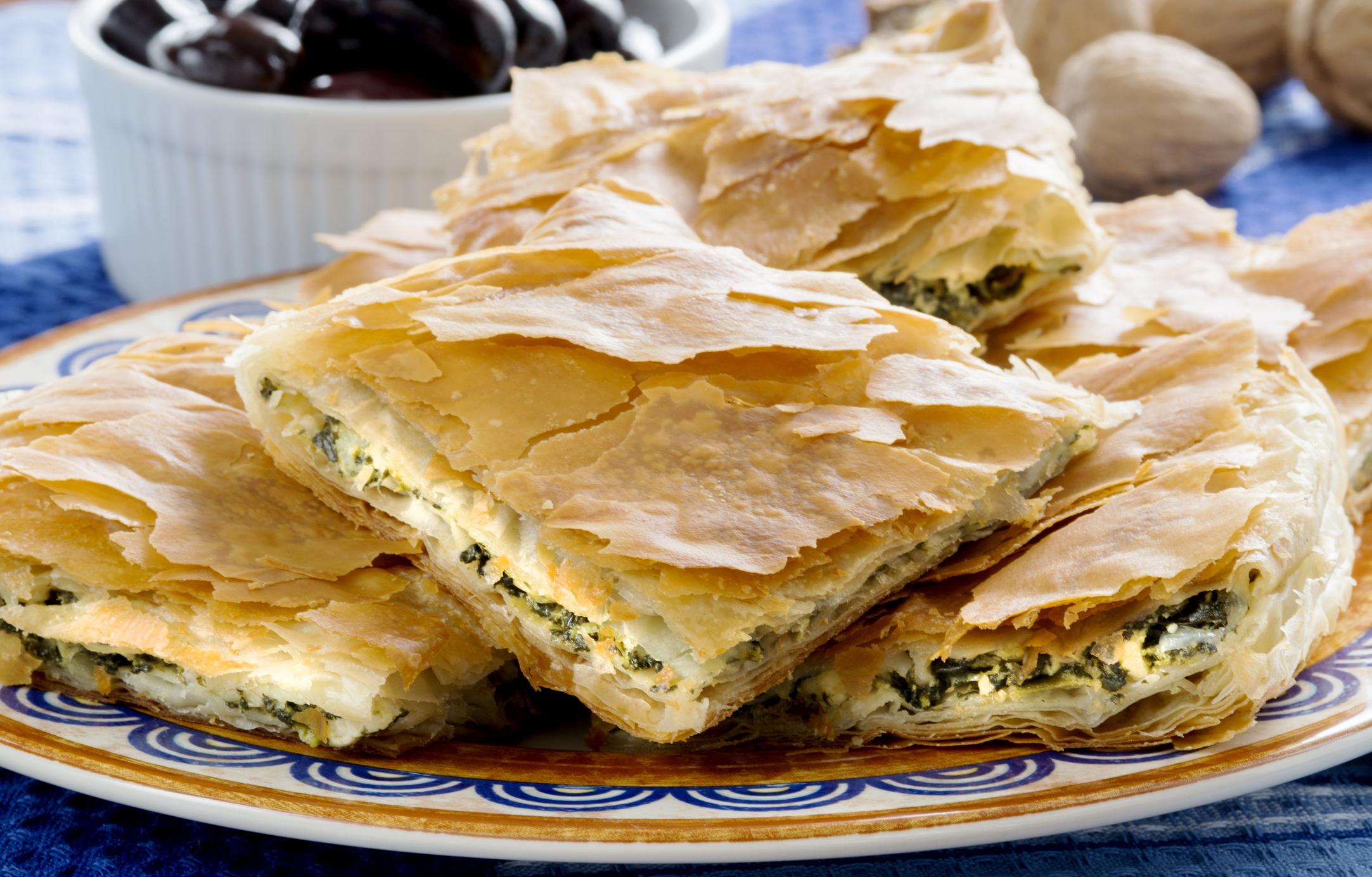 Spanakopita - a Recipe in the Style of KouZina Greek Street Food